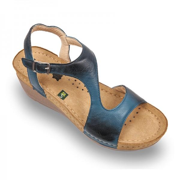 Sandale ortopedice pentru dame Leon 1050 Albastru
